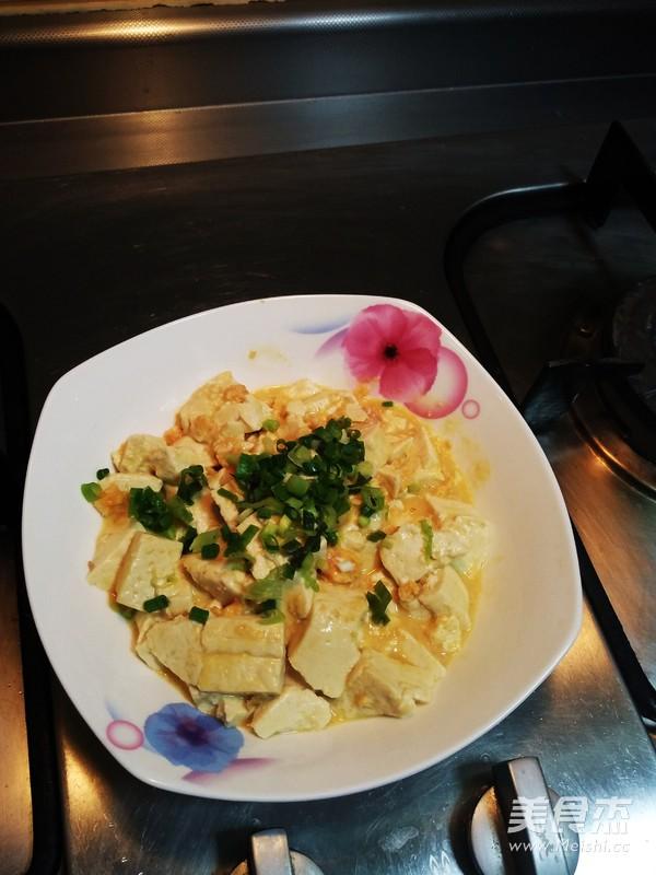 蟹黄豆腐羹成品图