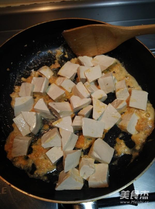 蟹黄豆腐羹的步骤