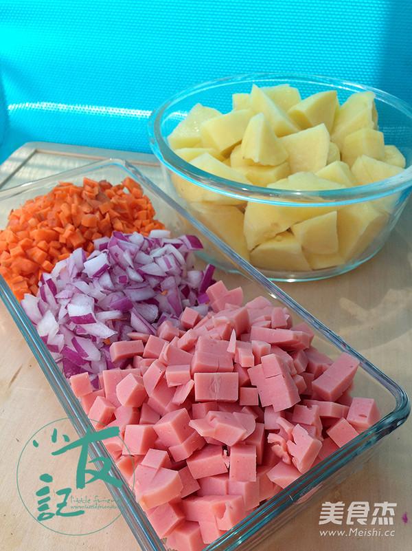 芝士焗土豆泥的做法大全