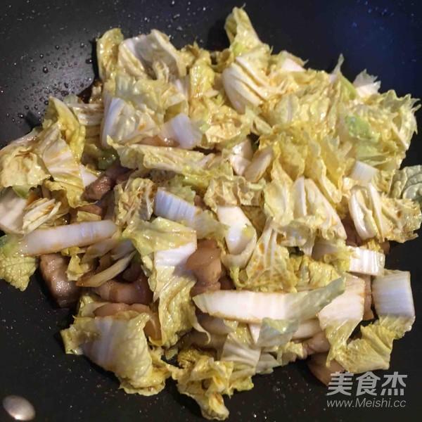 白菜猪肉炖粉条怎么炒
