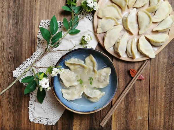猪肉香菜水饺怎样做
