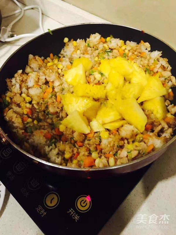 盛夏菠萝炒饭怎么吃