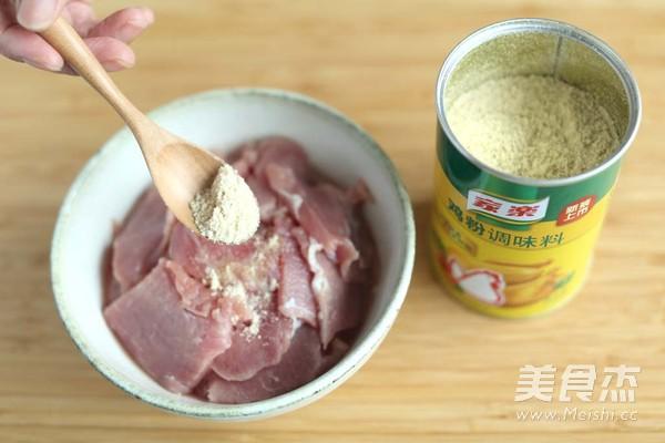 肉片炒丝瓜的做法图解