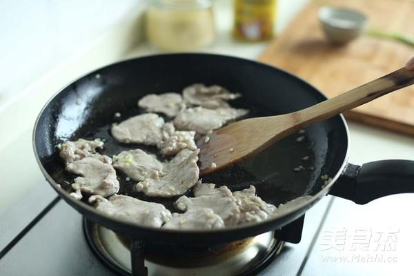 肉片炒丝瓜的简单做法