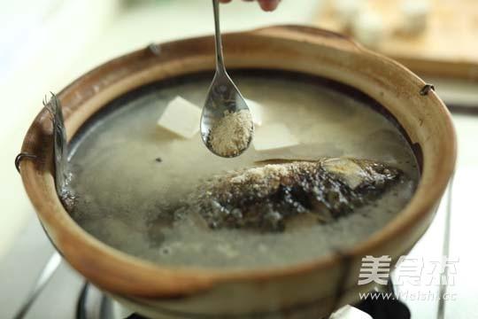 豆腐鲫鱼汤怎么炒