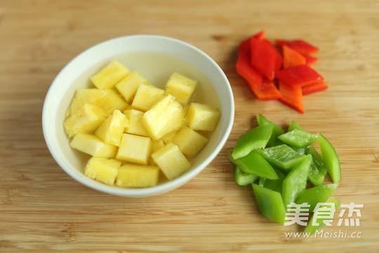 菠萝古老肉的做法图解