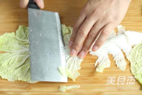 醋溜白菜的做法图解
