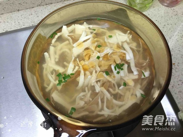 笋干豆腐汤的简单做法