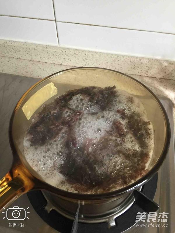 紫菜虾皮汤的家常做法