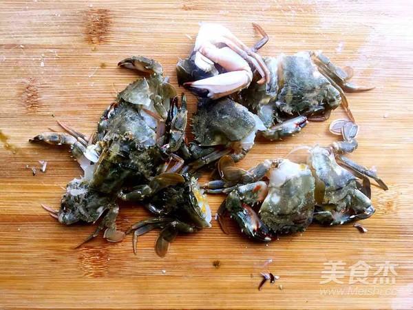 南瓜炖螃蟹怎么炖
