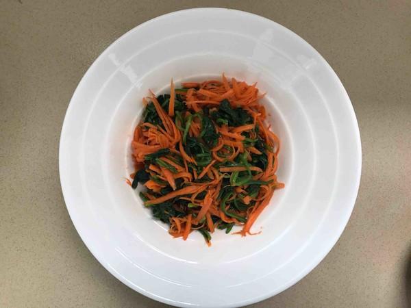 玉米面菠菜胡萝卜团子怎么做