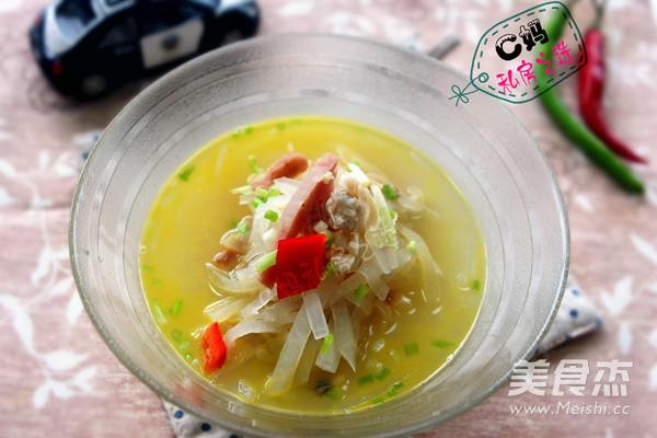 文蛤银丝汤的简单做法