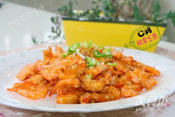 蒜蓉大虾的简单做法