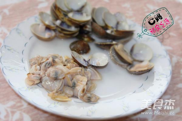 文蛤银丝汤的家常做法
