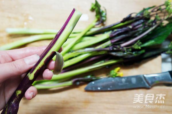 糖醋红油菜苔的做法图解