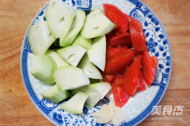 丝瓜西红柿炒蛋的做法图解