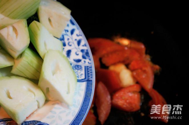 丝瓜西红柿炒蛋怎么煮