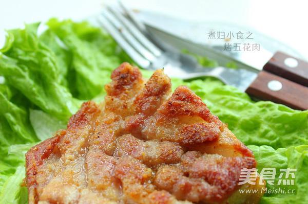 烤五花肉成品图