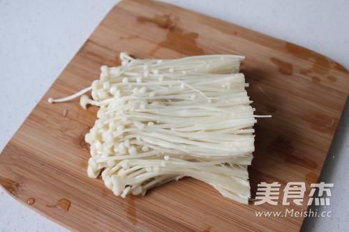 鲜虾金针菇的简单做法