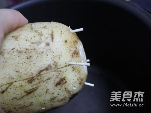 桂花糯米藕怎么吃