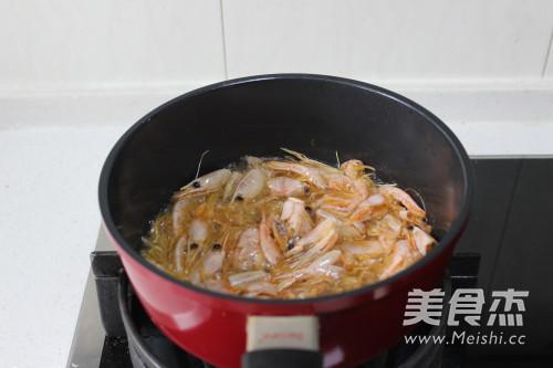 松茸虾油海鲜粥怎么煸