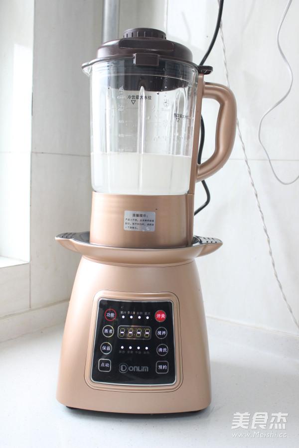 养生豆浆的家常做法