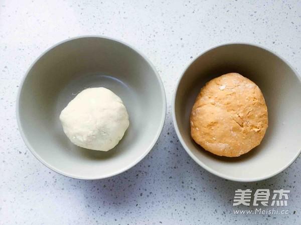 宝宝辅食-双色肉卷(10+)的做法图解