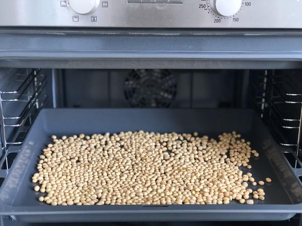 自制黄豆面的做法图解