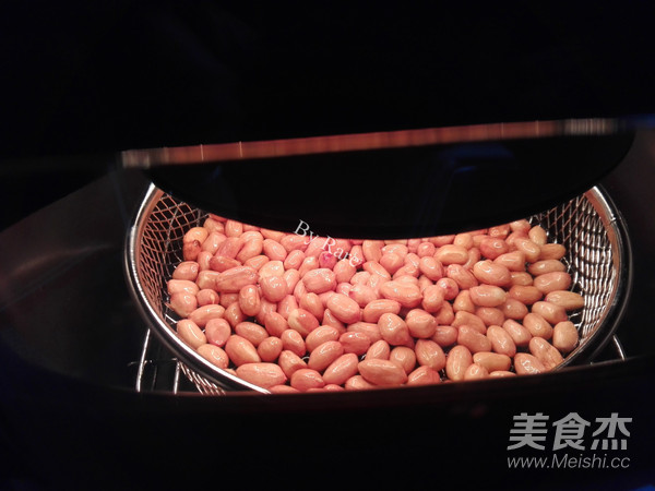 油炸花生米(空气炸锅版)怎么做
