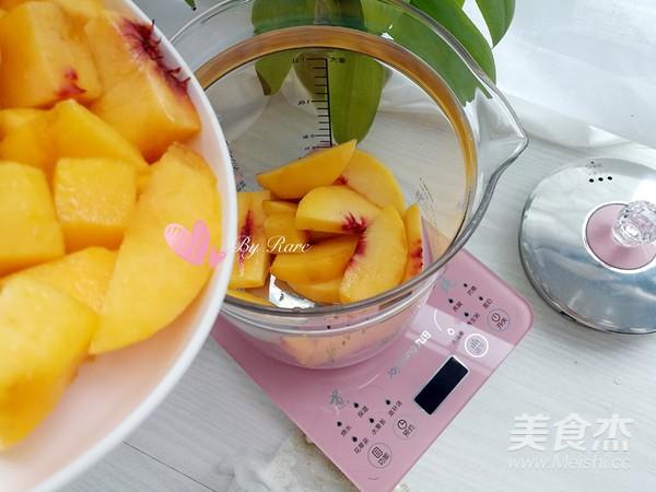 糖水黄桃罐头的家常做法