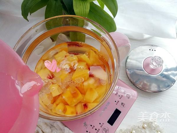 糖水黄桃罐头怎么吃