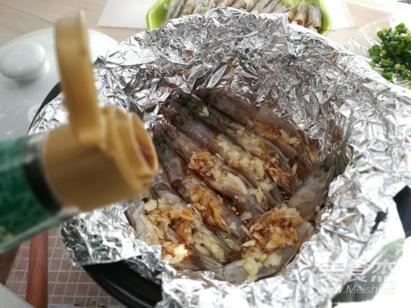 砂锅蒜蓉烤虾怎么做