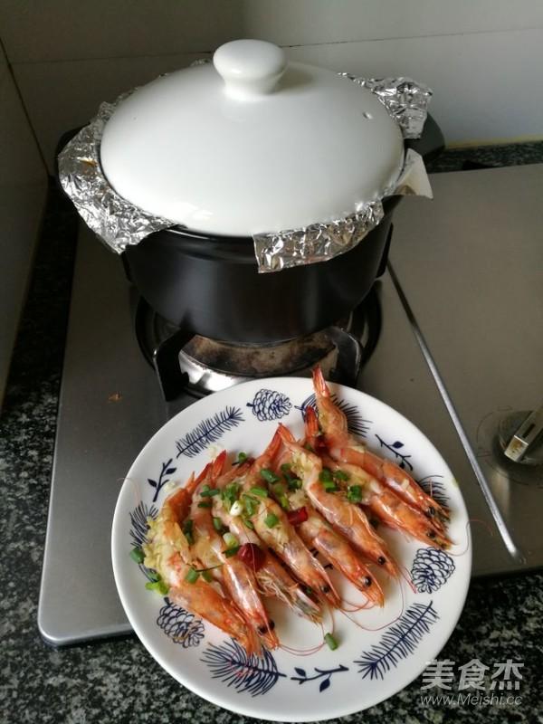 砂锅蒜蓉烤虾怎么煮