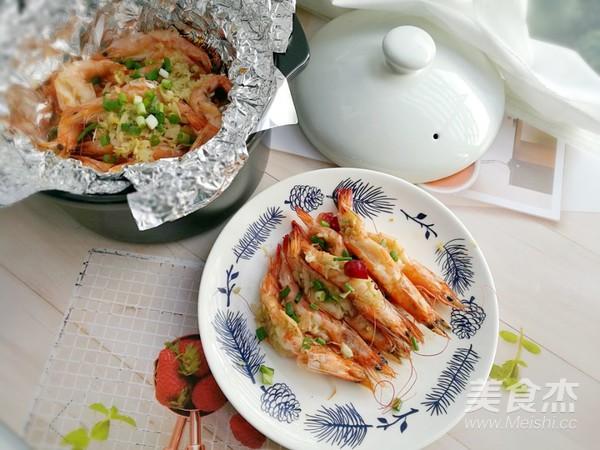 砂锅蒜蓉烤虾怎么炖