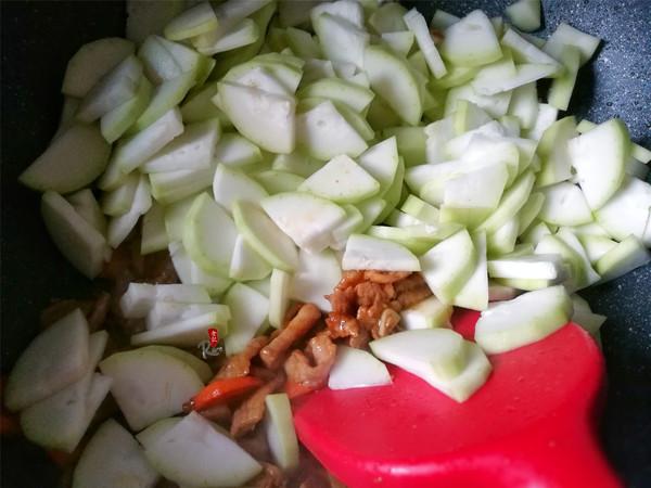 蒲瓜炒肉片怎么吃