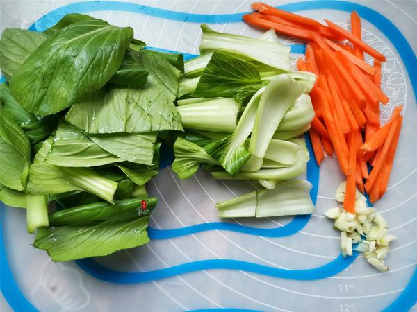 青菜炒粉丝的家常做法
