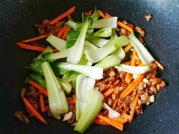 青菜炒粉丝怎么吃