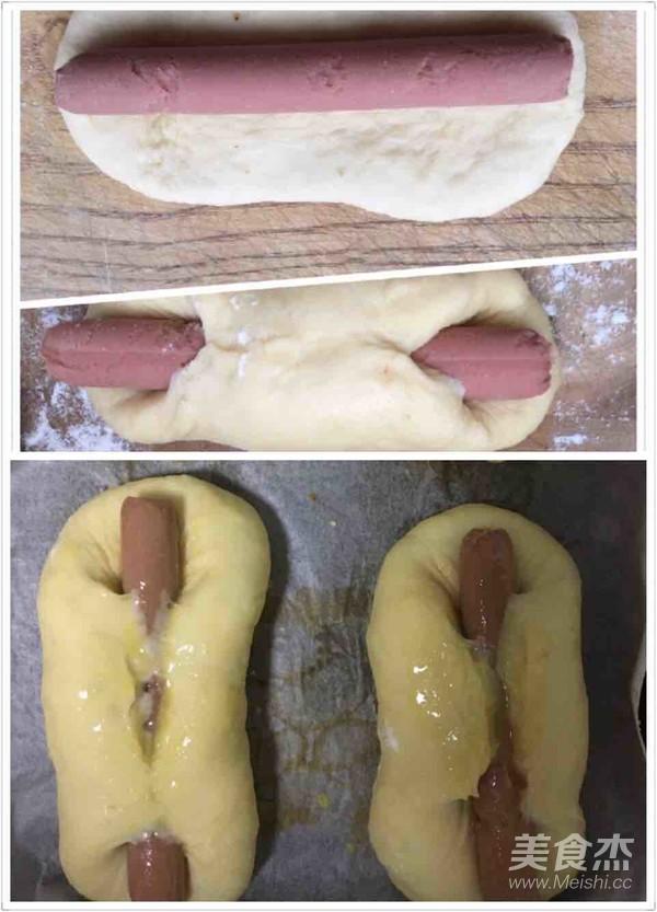 豆沙卷面包怎么炒