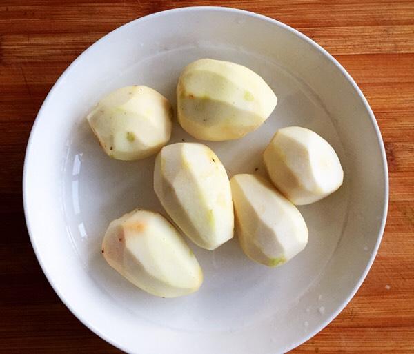 【芋儿鸡】这样做比大厨做的还好吃,晚餐组合五珍粉粥,减肥又解馋的做法图解