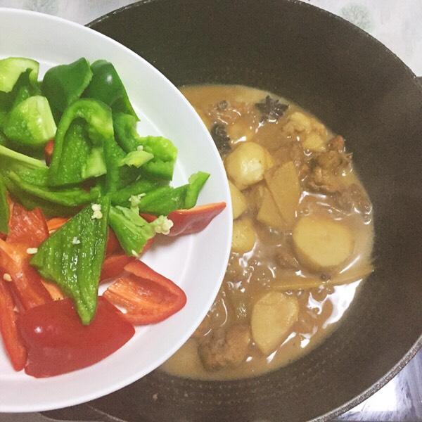 【芋儿鸡】这样做比大厨做的还好吃,晚餐组合五珍粉粥,减肥又解馋怎么煮