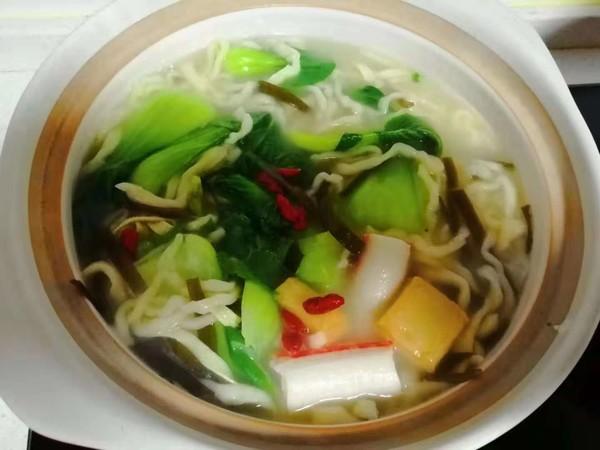 超级好吃的五珍粉蔬菜面做法,家常面条这样做,好吃又简单!怎么煸