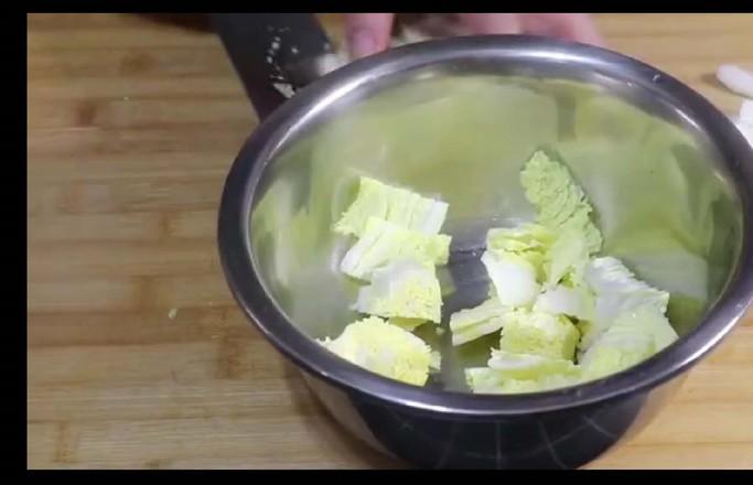 正宗猪肉白菜炖粉条,好吃就要这样做!五珍粉暖胃早餐组合!的做法大全
