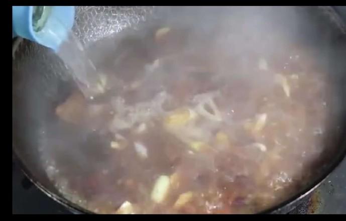 正宗猪肉白菜炖粉条,好吃就要这样做!五珍粉暖胃早餐组合!怎么煮