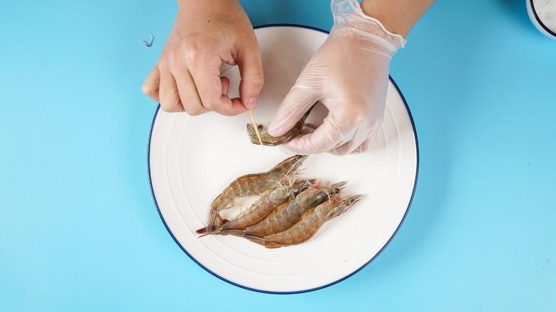 清蒸基围虾的做法图解