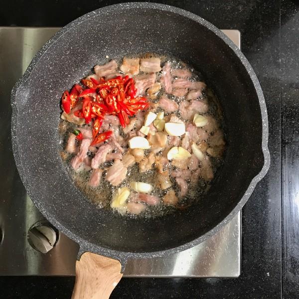 五花肉炒扁豆怎么做