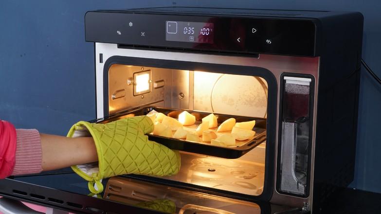 蒸烤土豆的简单做法