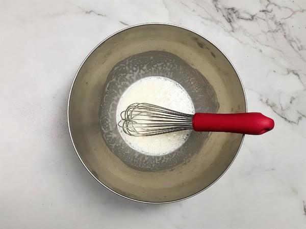 肉松海苔咸戚风蛋糕的简单做法