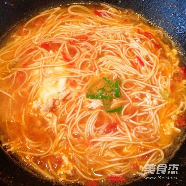 酸汤番茄挂面怎么煮