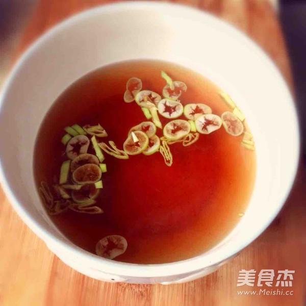腾汤挂面的做法图解