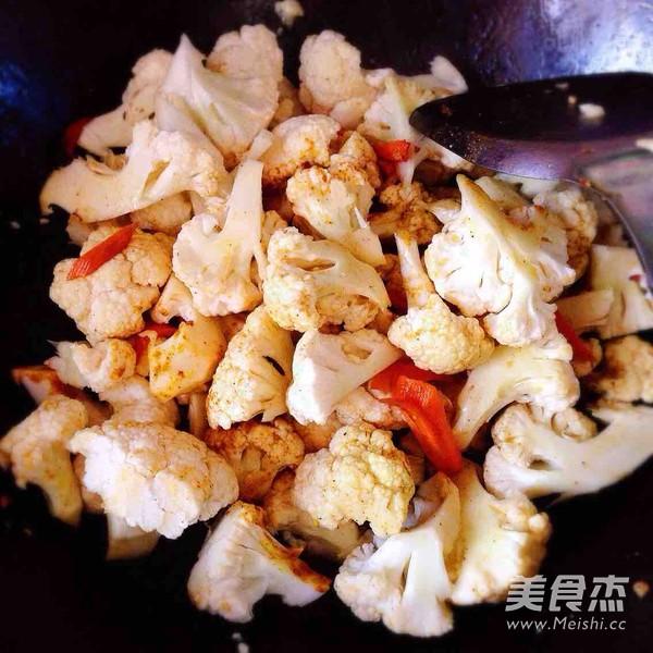 咖喱菜花的简单做法